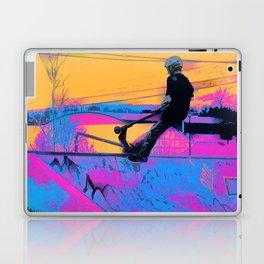 On Edge -  Stunt Scooter Artwork Laptop & iPad Skin