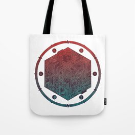 The Folly of Time and Space, Explained Tote Bag