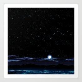 Landscape XXXVII Art Print