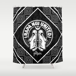Rapa Nui United Shower Curtain