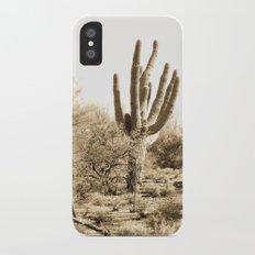 Saguaro iPhone X Slim Case