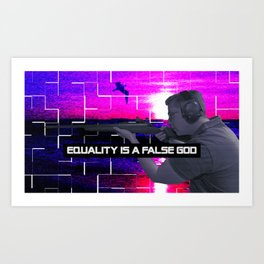 Philipp Amthor - Equality Is A False God Art Print