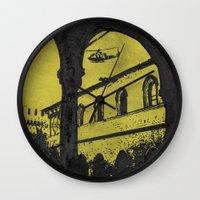 milan Wall Clocks featuring Milan 4 by Anand Brai