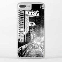 Chicago Windy City Clear iPhone Case