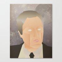 christopher walken Canvas Prints featuring Walken by Jake Jones