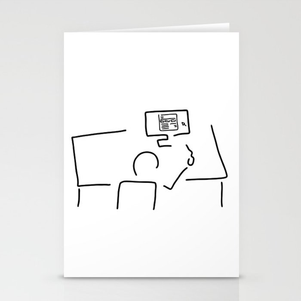 web designer graphic artist stationery cards