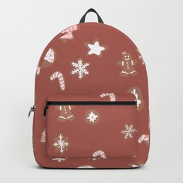 Christmas cookies pattern Backpack