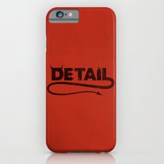 The Devil's in the Detail iPhone 6s Slim Case
