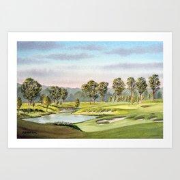 Fallen Oak Golf Course Mississippi Art Print
