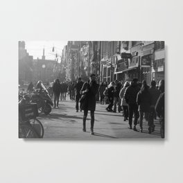 An ordinary day in Amsterdam Metal Print