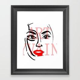 Lady Germanotta  Framed Art Print