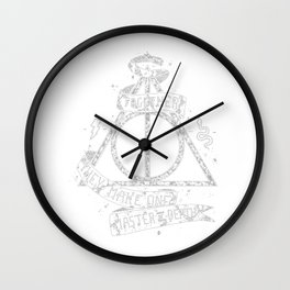 HarryPotter and the Deathly Hallows Wall Clock