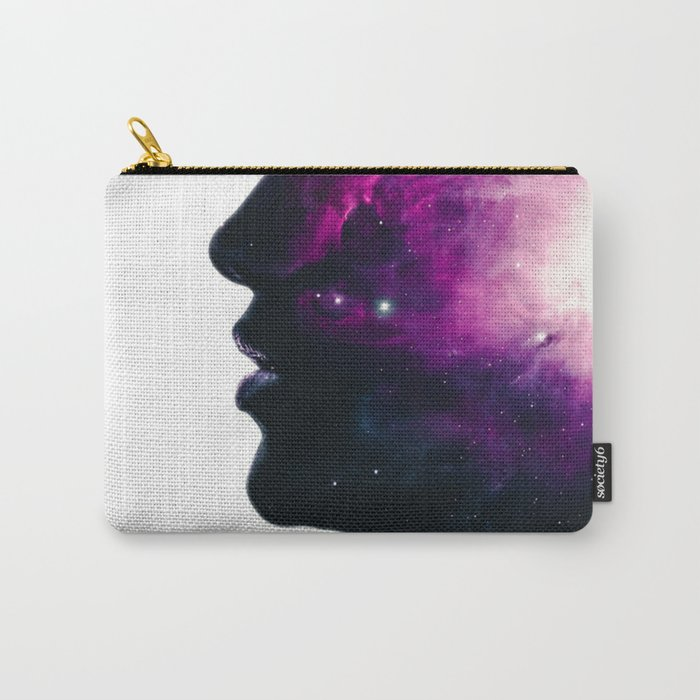 Galaxy Head Carry-All Pouch