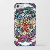 shield iPhone & iPod Cases featuring SHIELD by Paix Vivante