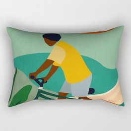 Stay Home No. 7 Rectangular Pillow