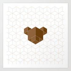 cubear Art Print