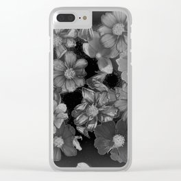 Shadow of Cosmos Clear iPhone Case