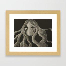 Silent Scream Framed Art Print