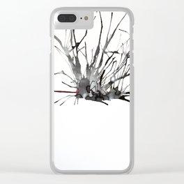 My Schizophrenia (2) Clear iPhone Case