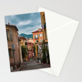 Vieux Nice on a Cloudy Day Stationery Cards