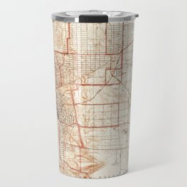 Vintage Map of Redondo Beach & Torrance CA (1934) Travel Mug