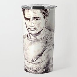 Young Marlon Brando Travel Mug
