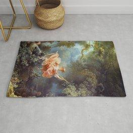 Jean-Honoré Fragonard - The Swing Rug