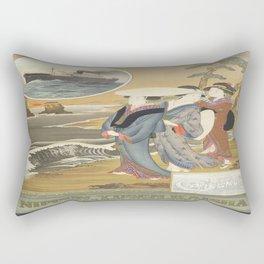 Vintage poster - Nippon Rectangular Pillow