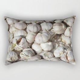 Garlic food pattern Rectangular Pillow