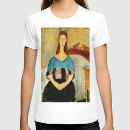 "Amedeo Modigliani ""Portrait of Jeanne Hebuterne, Seated"" 1918 T-shirt"