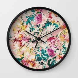 Tropical Summer Wall Clock