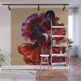Deconstructed Rose Wall Mural