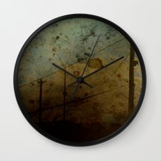 The Skies Grew Darker (It Made Our Hearts Seem Lighter) Wall Clock