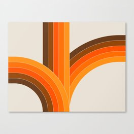 Bounce - Golden Canvas Print