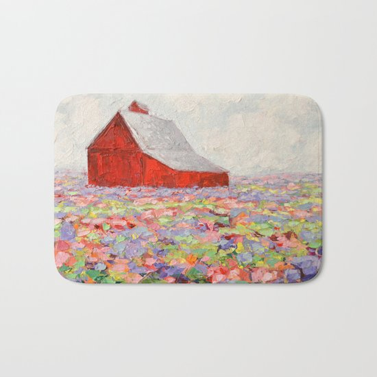 Hill Country Wildflowers Bath Mat