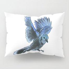 Bird Landing Pillow Sham