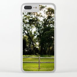 Country Life Clear iPhone Case