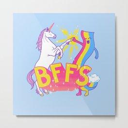 BFFS Metal Print