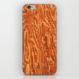 Walnut Wood iPhone Skin