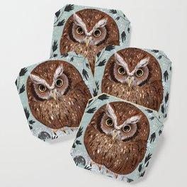 Painted Owl Coaster