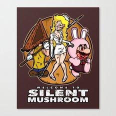 Silent Mushroom Canvas Print