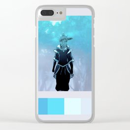 the legend Clear iPhone Case