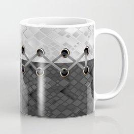 Lacing . 1 . Black and white snake. l Coffee Mug