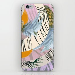 Pineapple Orange and The Pink Pattern iPhone Skin