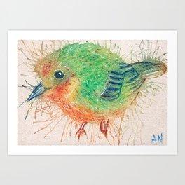 #30/100 Yellow Warbler Art Print