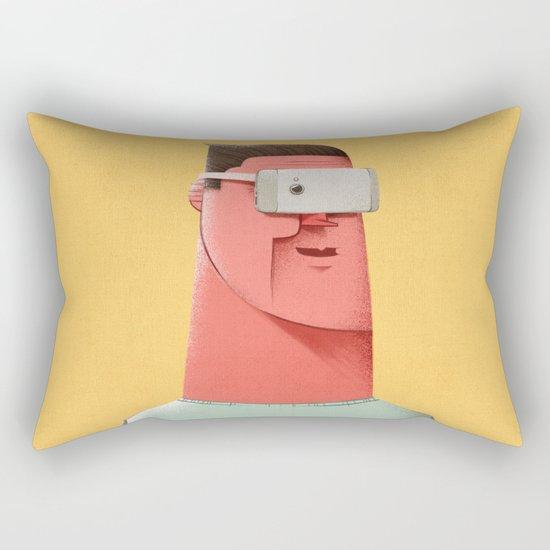 New Reality Rectangular Pillow