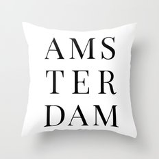 Amsterdam Throw Pillow