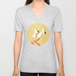 These Boots Unisex V-Neck