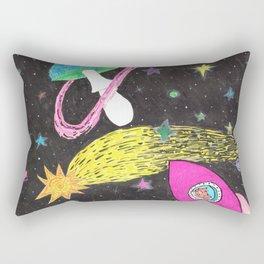Catstronaut Adventures in Space Pt.2 Rectangular Pillow