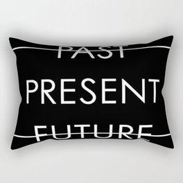 Past Present Future Rectangular Pillow